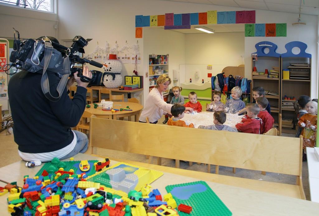 foto bij persbericht IKC De Vonkenmorgen op TV