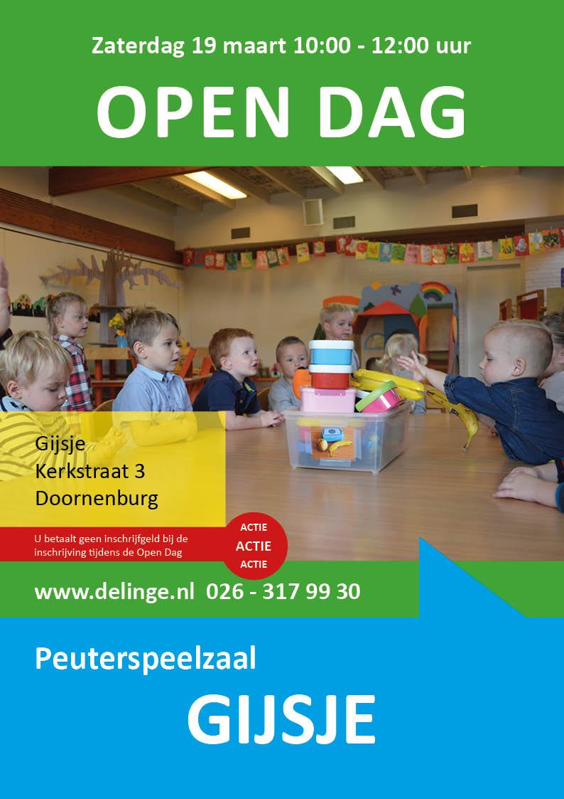 Open Dag Gijsje 19 maart 2016