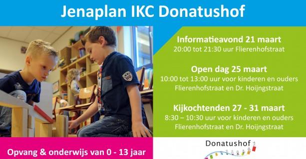 Open dag en informatieavond Jenaplan IKC Donatushof