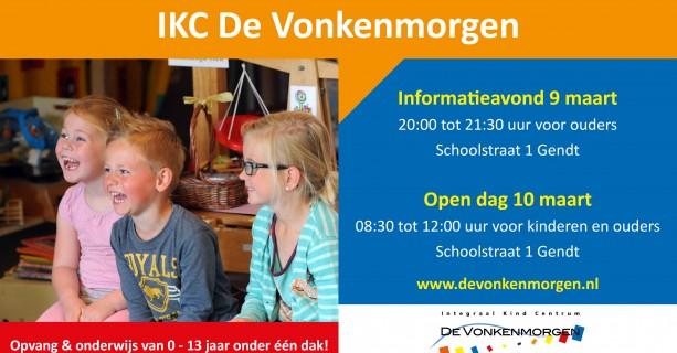 Kom kijken bij IKC De Vonkenmorgen!