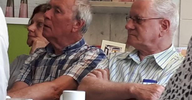Reünie gepensioneerden De Linge