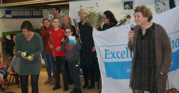 De Borgwal voor de derde keer 'Excellente School'